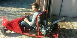 400 TL'ye Saatte 60 Kilometre Hızla Giden Araç Yapan Genç