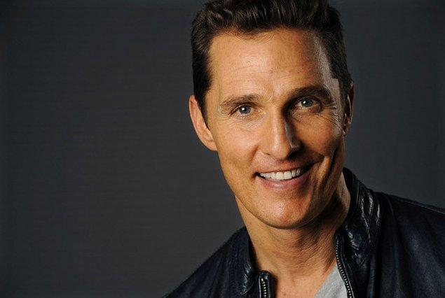 3. Matthew McConaughey