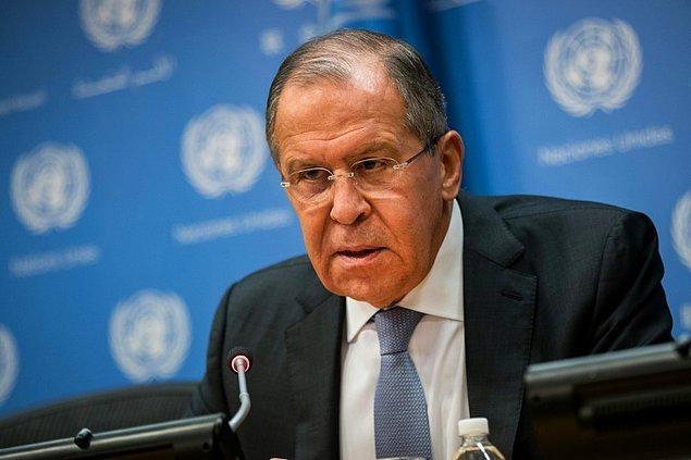 """Lavrov ise ABD'nin Suriye'de attığı adımların ya """"kasıtlı provokasyon"""" ya da Washington'un Suriye'nin durumunu bilmemesinden kaynaklandığını ifade etti."""