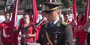 Afrin Şehidimiz Oğuz Kaan Usta'nın 30 Ağustos Konuşması: Bölücü ve Gericilerin Hedefi Atatürk İlke ve Devrimleridir!