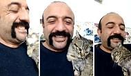 Engelli Kedisiyle Aşk Yaşayan Osman Kaplan'dan İçinizi Isıtacak Görüntüler
