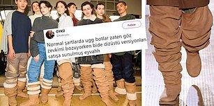 Ugg ve Dizüstü Çizmelere Ayrı Ayrı Bile Katlanamayanları Üzecek Trend: Uzun Ugg Çizmeler