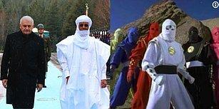 Beyazlar İçinde Ankara Ziyareti Yapan Nijer Başbakanının Kıyafetine Gelen Komik Tepkiler