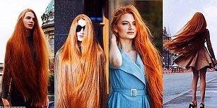 Saçkıran Hastalığını Yenip Pantene'in Yeni Modeli Olmayı Başaran Rus Rapunzel: Anastasia Sidorov!