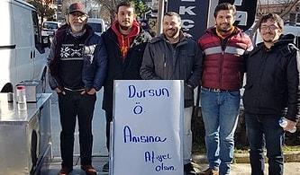 Dursun Özbek'in Başkanlığı Kaybetmesinin Ardından Lokma Dağıtan Galatasaraylı Taraftarlar