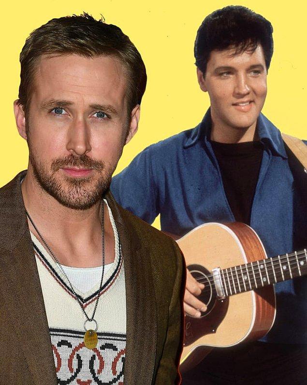 11. Ryan Gosling henüz gençken, amcasının Elvis Presley 'Tribute' müzik grubunda çaldı. 😎