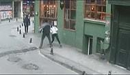 Yolda Yürürken Karşısına Çıkan Kadına Sebepsizce Yumruk Attı!