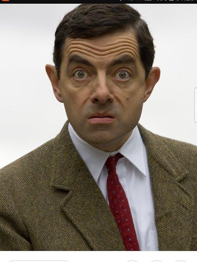 7. Seni unutur muyuz sandın Mr.Bean?