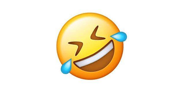 Ağzını yayarak gülen emoji!