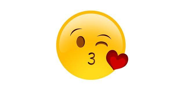 Kokulu öpücük emojisi!