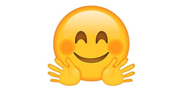 Samimiyeti gösteren emoji!