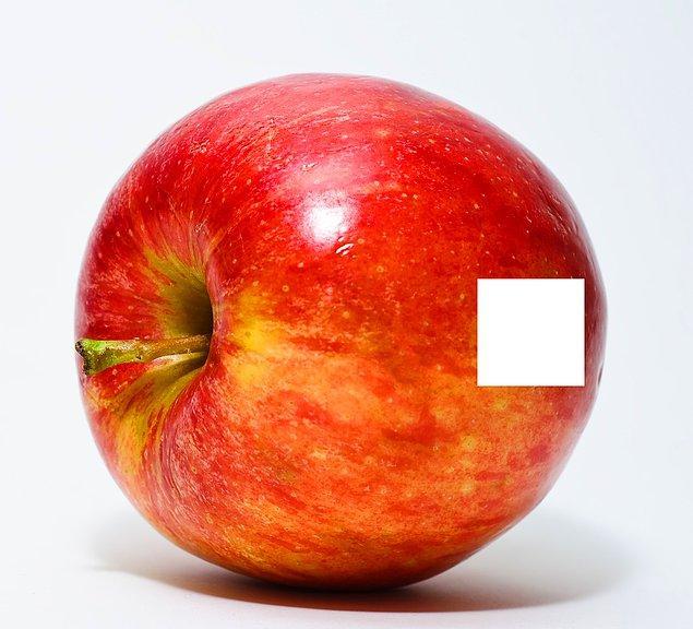 7. Peki bu elmanın?