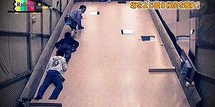 Japonlardan Yaratıcı Bir Oyun: Eğimli ve Kaygan Zemini Tırmanarak Odadan Kaçış Oyunu
