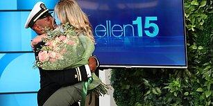 Uzun Süredir Göremediği Sevgilisini Ellen'ın Sürpriziyle Gören Kadının Yaşadığı Büyük Sevinç