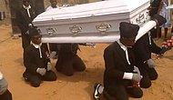 Görenleri Şoke Eden Gana'daki İlginç Cenaze Töreni