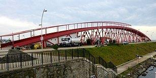 Kıskandıran Proje! Trabzon'da Altından Su Geçmeyen Köprü