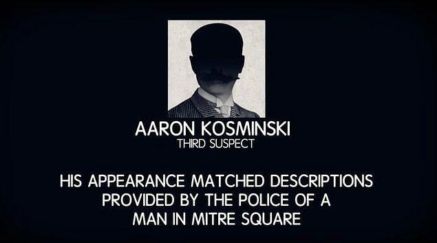 10. Üçüncü şüpheli Aaron Kosminski de o bölgede yaşıyordu ve cinayetler sona erdikten sonra akıl hastanesine kaldırılmıştı.