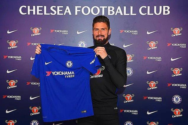18. Olivier Giroud: 17 Milyon Euro (Arsenal ➡ Chelsea)