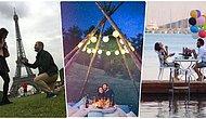 Darısı Bize! Yaptıkları Evlilik Teklifleriyle Çıtayı Arşa Çıkaran Birbirinden Renkli 20 Takipçimiz 💍