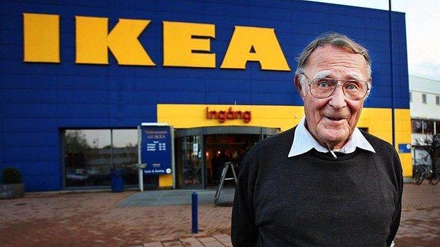 7. Bir dönem dünyanın en zengin insanı olan Ikea'nın kurucusu Ingvar Kamprad öyle cimriymiş ki, çalışanlarını sık sık kağıdın iki yüzünü de kullanması konusunda uyarırmış.