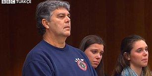 Üç Kızını Taciz Eden Doktora Mahkeme Salonunda Saldırı Girişiminde Bulunan Baba