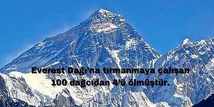 Dünyanın Zirvesi Everest Hakkında Birbirinden İlginç Bilgiler