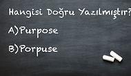 Bu İngilizce İmla Testinden Sadece İngilizce Öğretmenleri Geçebiliyor!