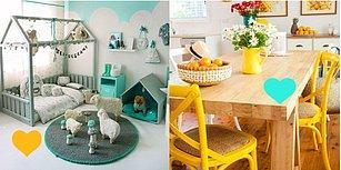 Instagram'ın Renkli Mutfaklar Trendi Bütün Eve Yayıldı! Rengarenk Ev Dekorasyonlarına Hazır mısınız?
