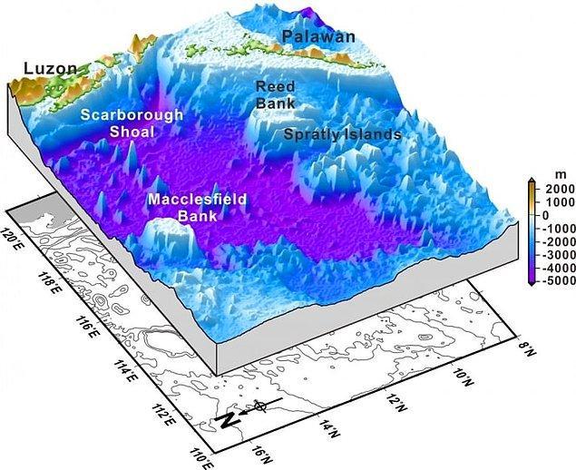 12. Okyanus zeminin haritasını 5km ölçeğe kadar çıkarabiliyorken, bu haritayı Venüs gezegeni için 100 metreye kadar düşürebiliyoruz.