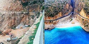 Kaş'ın Doğa Harikası Plajı Kaputaş'a Kepçe Girdi: 'Beton Dökülüyor' İsyanına Belediye Ne Cevap Verdi?