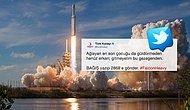 Türk Kızılayı'ndan Falcon Heavy Mesajı: 'Ağlayan Son Çocuğu Güldürmeden, Gitmeyelim Bu Gezegenden'