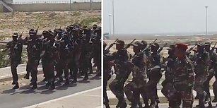 Somali Askerlerinden 'İzmir Marşı': Yaşa Mustafa Kemal Paşa Yaşa