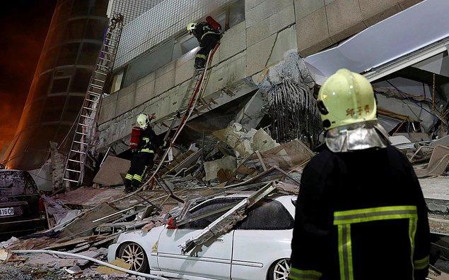 11. 1999'da Tayvan'ın merkezini vuran 7,6 büyüklüğündeki şiddetli depremse 2 binden fazla can kaybına yol açmıştı.