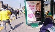 Kayseri'de Bir Grup 'Gözlerimiz Esir' Diyerek Sütyen Reklamını Kapattı... Marka, Kadını Sildi