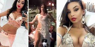 Fazla Seksi Diye Gözaltına Alınan Rus Dansöz