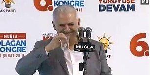 Başbakan Yıldırım 'Bizi Afrin'e Götür' Sloganına Gülerek Yanıt Verdi: 'Çıkışta Hazır Olun Gidiyoruz'
