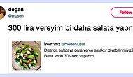 Dışarıda 30 Lira Olduğu İddia Edilen Pek de İştah Açıcı Olmayan Salata Paylaşımına Gelen Komik Tepkiler