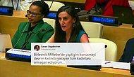 Türk Bilim Kadını Canan Dağdeviren BM'de Konuştu: 'Sonsuz Motivasyon Kaynağım Atatürk'