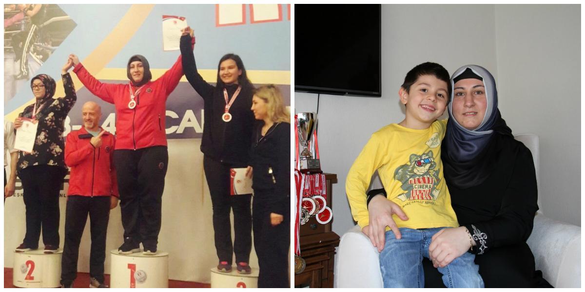 Dul Kadınsın Evde Otur Demişlerdi: Kick Boks Şampiyonu Gülsüm Özenin Sıradaki Hedefi Avrupa 14