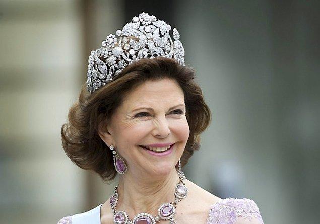 İsveç Kraliçesi Silvia!