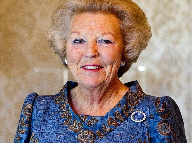 Hollanda Kraliçesi Beatrix!