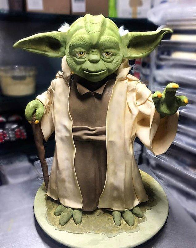 Bu Yoda ise resmen gerçeğinden iyi duruyor!