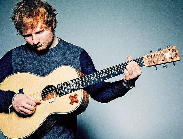 1. Ed Sheeran