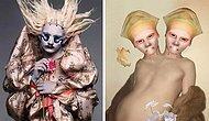 Makyaj ve Güzellikteki Alışılagelmişliği 'Yaratık' Tadında Çalışmalarıyla Yıkıp Geçen Sanatçı Salvia!