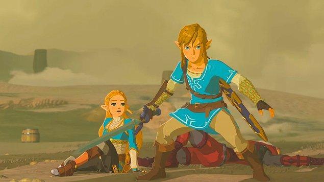15. Link & Zelda