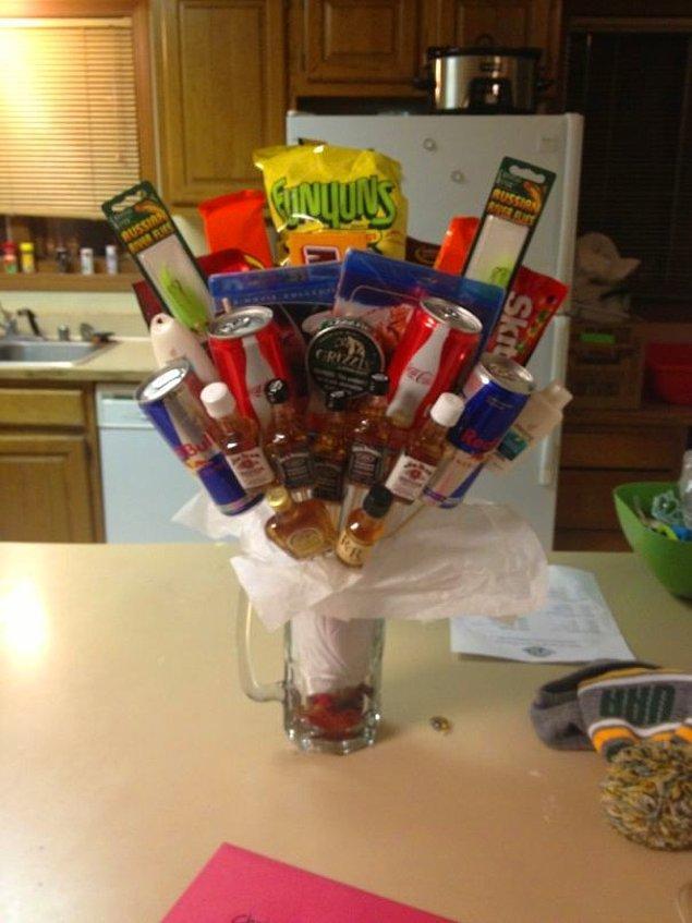 """12. """"Kız kardeşim bunu sevgilisi için yaptı. Adı da 'bro'ket."""""""