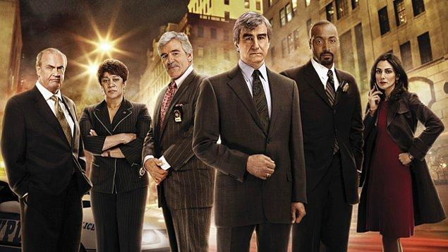 10. Law & Order (7,7)