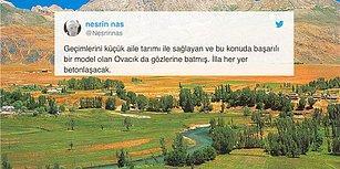 Burası Ülkenin 8. Büyük Tarım Ovası: Ovacık'ta Tarım Arazilerini de İçine Alan Bölge İhaleye Çıkarıldı