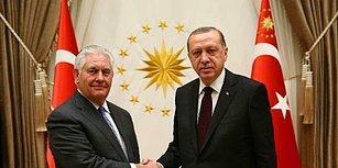 Ankara'da Uzun Gece: Erdoğan-Tillerson Görüşmesi 3 Saatten Fazla Sürdü