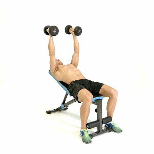 Image result for dumbbell incline fly